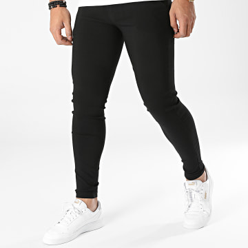 Frilivin - Pantalon Chino 10015 Noir
