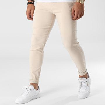 Frilivin - Pantalon Chino 10015 Beige