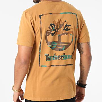 Timberland - Tee Shirt Back Box A22DT Camel