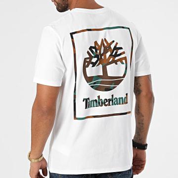 Timberland - Tee Shirt Back Box A22DT Blanc