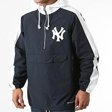 Champion - Coupe-Vent New York Yankees 217008 Bleu Marine Blanc