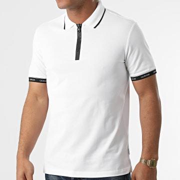 Calvin Klein - Polo Manches Courtes Branded 7734 Ecru