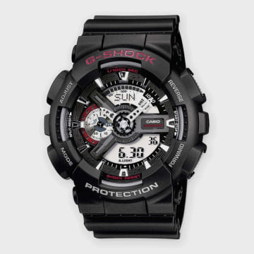 Casio - Montre G-Shock GA-110-1AER Noir