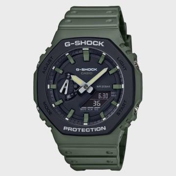 Casio - Montre G-Shock GA-2110SU-3AER Vert Kaki