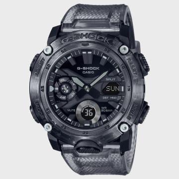Casio - Montre G-Shock GA-2000SKE-8AER Noir