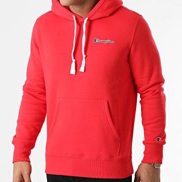 Champion - Sweat Capuche 216475 Rouge