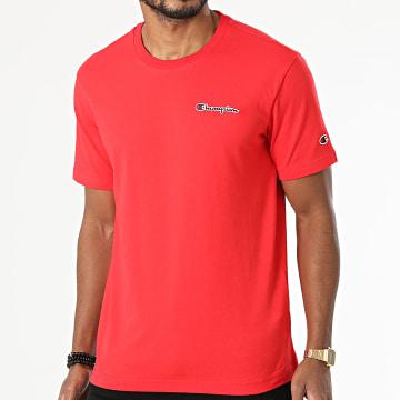 Champion - Tee Shirt 216480 Rouge