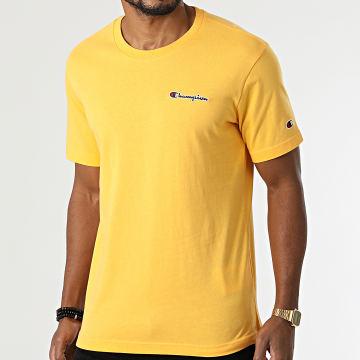 Champion - Tee Shirt 216480 Jaune