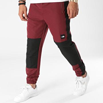 The North Face - Pantalon Jogging A Bandes BB A55BG Bordeaux Noir