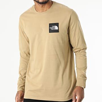 The North Face - Tee Shirt Manches Longues Boruda A4C9I Beige