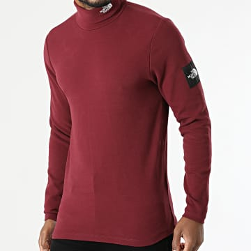 The North Face - Tee Shirt Col Roulé BB A5ICA Bordeaux