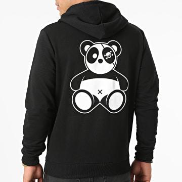 Sale Môme Paris - Sweat Capuche Panda Noir Blanc