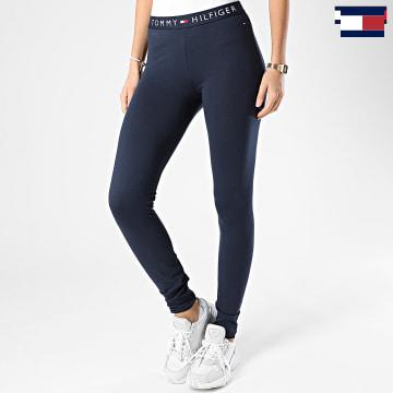 https://laboutiqueofficielle-res.cloudinary.com/image/upload/v1627566657/Marketing/WATERMARK%20svg/2logo_tommy_hilfiger.svg Tommy Hilfiger - Legging Femme 1646 Bleu Marine