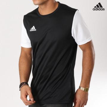 https://laboutiqueofficielle-res.cloudinary.com/image/upload/v1627638668/Desc/Watermark/adidas_performance.svg Adidas Performance - Tee Shirt De Sport Estro 19 Jersey DP3233 Noir