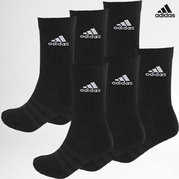 https://laboutiqueofficielle-res.cloudinary.com/image/upload/v1627638668/Desc/Watermark/adidas_performance.svg Adidas Performance - Lot De 6 Paires De Chaussettes DZ9354 Noir