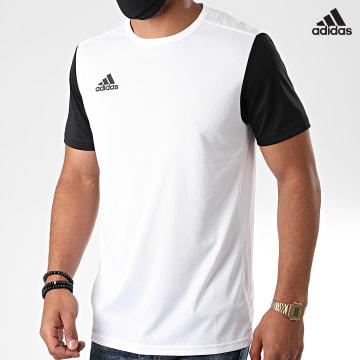 https://laboutiqueofficielle-res.cloudinary.com/image/upload/v1627638668/Desc/Watermark/adidas_performance.svg Adidas Performance - Tee Shirt Estro 19 DP3234 Blanc Noir