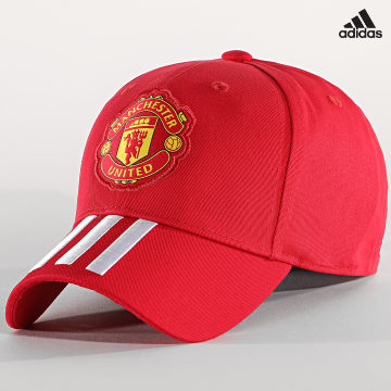 https://laboutiqueofficielle-res.cloudinary.com/image/upload/v1627638668/Desc/Watermark/adidas_performance.svg Adidas Performance - Casquette Manchester United Baseball FS0150 Rouge