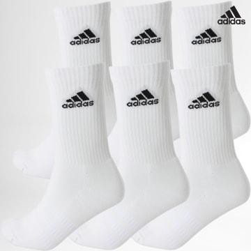 https://laboutiqueofficielle-res.cloudinary.com/image/upload/v1627638668/Desc/Watermark/adidas_performance.svg Adidas Performance - Lot De 6 Paires De Chaussettes Cush Crw DZ9353 Blanc