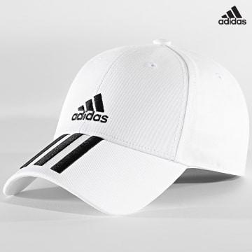 https://laboutiqueofficielle-res.cloudinary.com/image/upload/v1627638668/Desc/Watermark/adidas_performance.svg Adidas Performance - Casquette Baseball Cap FQ5411 Blanc