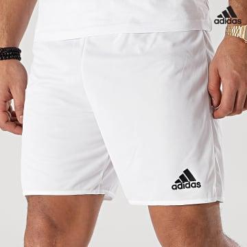https://laboutiqueofficielle-res.cloudinary.com/image/upload/v1627638668/Desc/Watermark/adidas_performance.svg Adidas Performance - Short Jogging Parma 16 AC5254 Blanc