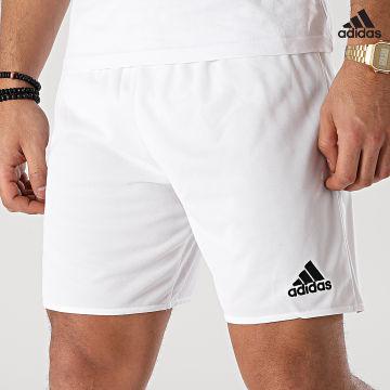 https://laboutiqueofficielle-res.cloudinary.com/image/upload/v1627638668/Desc/Watermark/adidas_performance.svg Adidas Performance - Short Jogging Parma 16 AC5255 Blanc