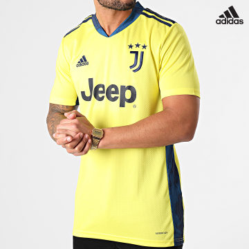 https://laboutiqueofficielle-res.cloudinary.com/image/upload/v1627638668/Desc/Watermark/adidas_performance.svg Adidas Performance - Tee Shirt De Sport Juve FI5004 Jaune Fluo