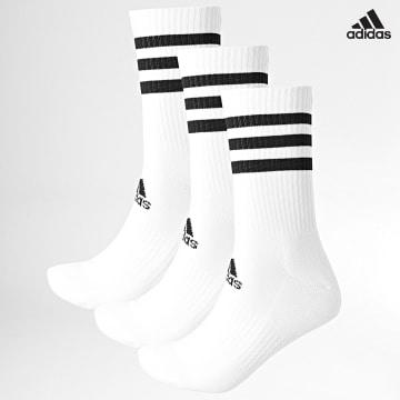 https://laboutiqueofficielle-res.cloudinary.com/image/upload/v1627638668/Desc/Watermark/adidas_performance.svg Adidas Performance - Lot De 3 Chaussettes 3 Stripes Cushioned DZ9346 Blanc