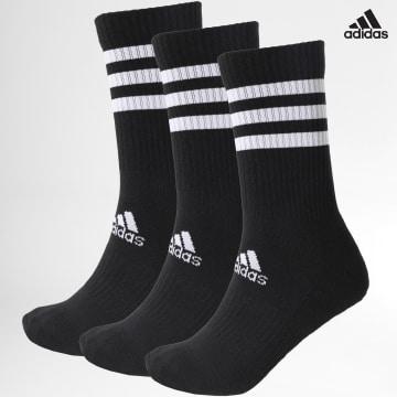 https://laboutiqueofficielle-res.cloudinary.com/image/upload/v1627638668/Desc/Watermark/adidas_performance.svg Adidas Performance - Lot De 3 Paires De Chaussettes 3-Stripes DZ9347 Noir