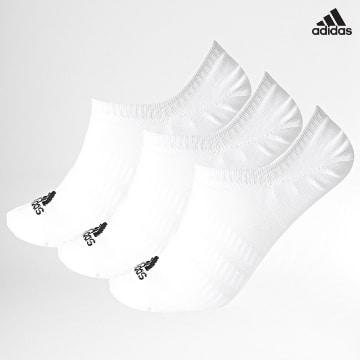 https://laboutiqueofficielle-res.cloudinary.com/image/upload/v1627638668/Desc/Watermark/adidas_performance.svg Adidas Performance - Lot De 3 Paires De Chaussettes Basses Light Nosh DZ9415 Blanc
