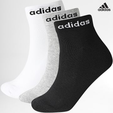 https://laboutiqueofficielle-res.cloudinary.com/image/upload/v1627638668/Desc/Watermark/adidas_performance.svg Adidas Performance - Lot De 3 Paires De Chaussettes Ankle GE6132 Noir