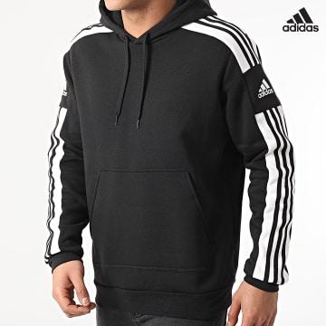 https://laboutiqueofficielle-res.cloudinary.com/image/upload/v1627638668/Desc/Watermark/adidas_performance.svg Adidas Performance - Sweat Capuche A Bandes SQ21 GT6634 Noir