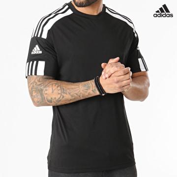 https://laboutiqueofficielle-res.cloudinary.com/image/upload/v1627638668/Desc/Watermark/adidas_performance.svg Adidas Performance - Tee Shirt A Bandes Squad 21 GN5720 Noir