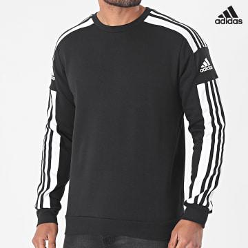 https://laboutiqueofficielle-res.cloudinary.com/image/upload/v1627638668/Desc/Watermark/adidas_performance.svg Adidas Performance - Sweat Crewneck A Bandes SQ21 GT6638 Noir