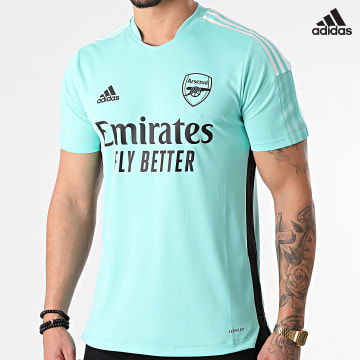 https://laboutiqueofficielle-res.cloudinary.com/image/upload/v1627638668/Desc/Watermark/adidas_performance.svg Adidas Performance - Tee Shirt De Sport Arsenal GR4159 Vert