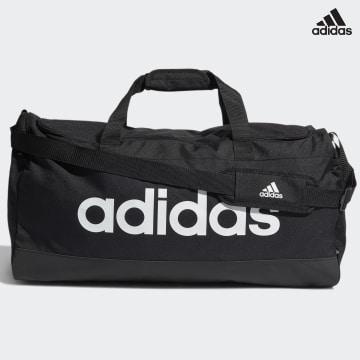 https://laboutiqueofficielle-res.cloudinary.com/image/upload/v1627638668/Desc/Watermark/adidas_performance.svg Adidas Performance - Sac De Sport Linear Duffel GN2044 Noir