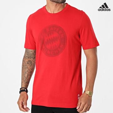 https://laboutiqueofficielle-res.cloudinary.com/image/upload/v1627638668/Desc/Watermark/adidas_performance.svg Adidas Performance - Tee Shirt De Sport FC Bayern GR0680 Rouge