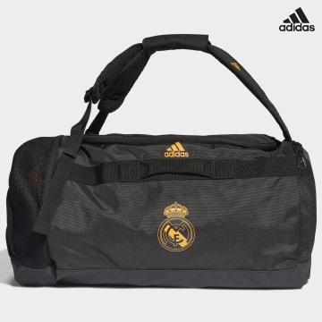 https://laboutiqueofficielle-res.cloudinary.com/image/upload/v1627638668/Desc/Watermark/adidas_performance.svg Adidas Performance - Sac De Sport Real Madrid GU0082 Noir