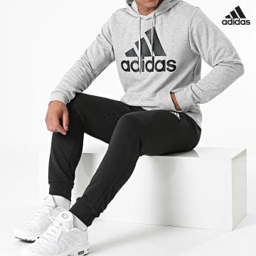 https://laboutiqueofficielle-res.cloudinary.com/image/upload/v1627638668/Desc/Watermark/adidas_performance.svg Adidas Performance - Ensemble De Survetement Big Logo GK9653 Gris Chiné Noir