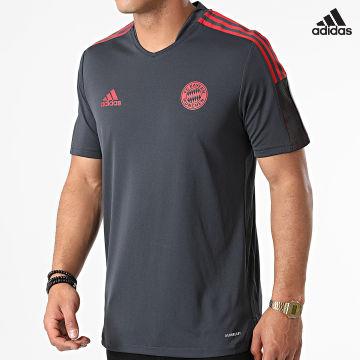 https://laboutiqueofficielle-res.cloudinary.com/image/upload/v1627638668/Desc/Watermark/adidas_performance.svg Adidas Performance - Tee Shirt De Sport FC Bayern GR0658 Gris Anthracite