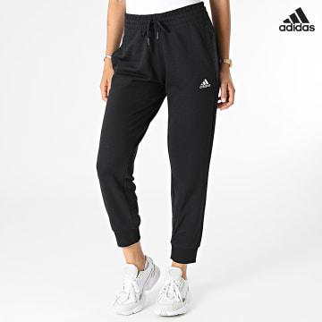 https://laboutiqueofficielle-res.cloudinary.com/image/upload/v1627638668/Desc/Watermark/adidas_performance.svg Adidas Performance - Pantalon Jogging Femme GM5541 Noir