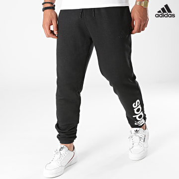 https://laboutiqueofficielle-res.cloudinary.com/image/upload/v1627638668/Desc/Watermark/adidas_performance.svg Adidas Performance - Pantalon Jogging Essentials French Terry GK8897 Noir