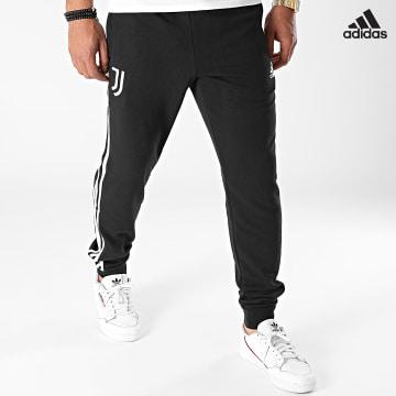 https://laboutiqueofficielle-res.cloudinary.com/image/upload/v1627638668/Desc/Watermark/adidas_performance.svg Adidas Performance - Pantalon Jogging A Bandes Juventus GR2931 Noir
