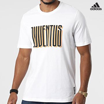 https://laboutiqueofficielle-res.cloudinary.com/image/upload/v1627638668/Desc/Watermark/adidas_performance.svg Adidas Performance - Tee Shirt Juventus GR2921 Blanc