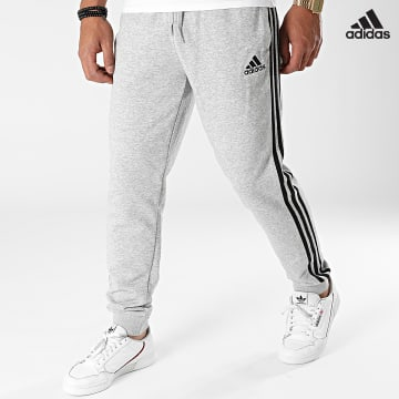 https://laboutiqueofficielle-res.cloudinary.com/image/upload/v1627638668/Desc/Watermark/adidas_performance.svg Adidas Performance - Pantalon Jogging A Bandes 3 Stripes GK8889 Gris Chiné