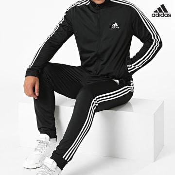 https://laboutiqueofficielle-res.cloudinary.com/image/upload/v1627638668/Desc/Watermark/adidas_performance.svg Adidas Performance - Ensemble De Survêtement A Bandes GK9651 Noir