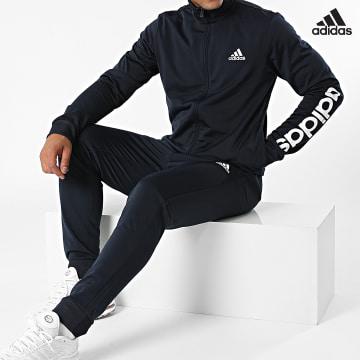 https://laboutiqueofficielle-res.cloudinary.com/image/upload/v1627638668/Desc/Watermark/adidas_performance.svg Adidas Performance - Ensemble De Survêtement GK9655 Bleu Marine