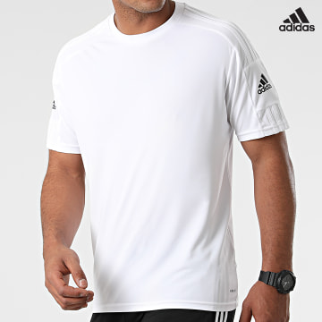 https://laboutiqueofficielle-res.cloudinary.com/image/upload/v1627638668/Desc/Watermark/adidas_performance.svg Adidas Performance - Tee Shirt Squad 21 GN5726 Blanc