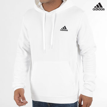 https://laboutiqueofficielle-res.cloudinary.com/image/upload/v1627638668/Desc/Watermark/adidas_performance.svg Adidas Performance - Sweat Capuche Feelcozy H12211 Ecru