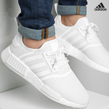 https://laboutiqueofficielle-res.cloudinary.com/image/upload/v1627638668/Desc/Watermark/adidas_performance.svg Adidas Performance - Baskets NMD R1 Primeblue GZ9259 Footwear White