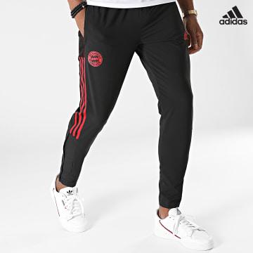 https://laboutiqueofficielle-res.cloudinary.com/image/upload/v1627638668/Desc/Watermark/adidas_performance.svg Adidas Performance - Pantalon Jogging A Bandes FC Bayern GR0631 Noir
